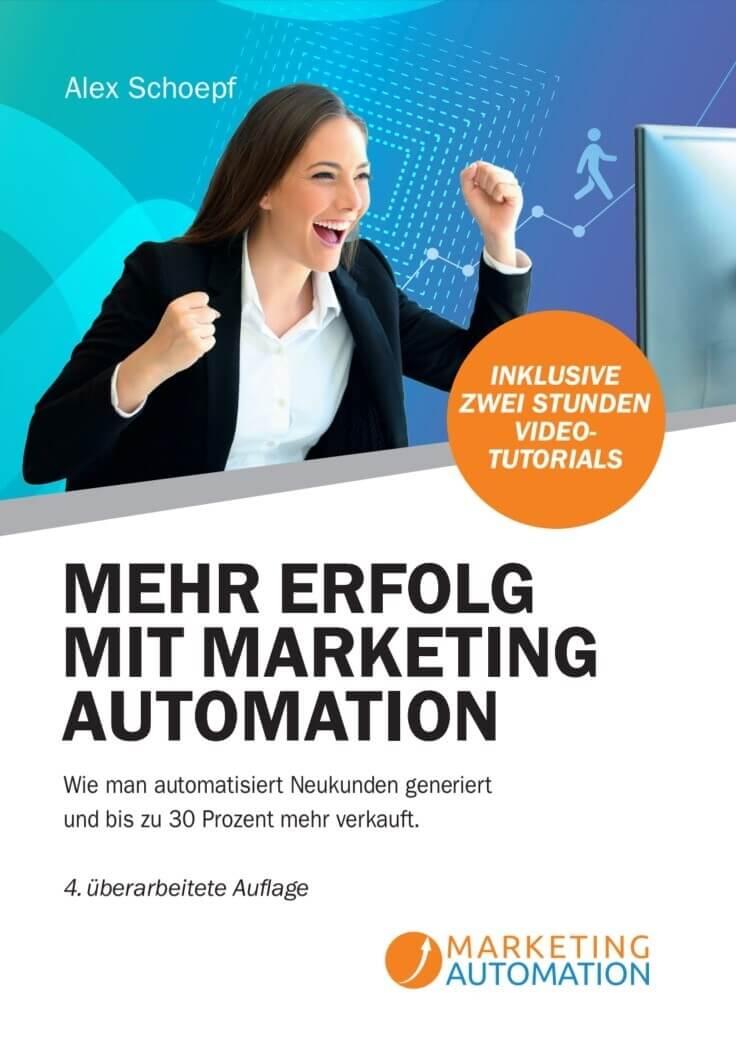 "Marketing Automation-Buch ""Mehr Unternehmenserfolg mit Marketing Automation"""