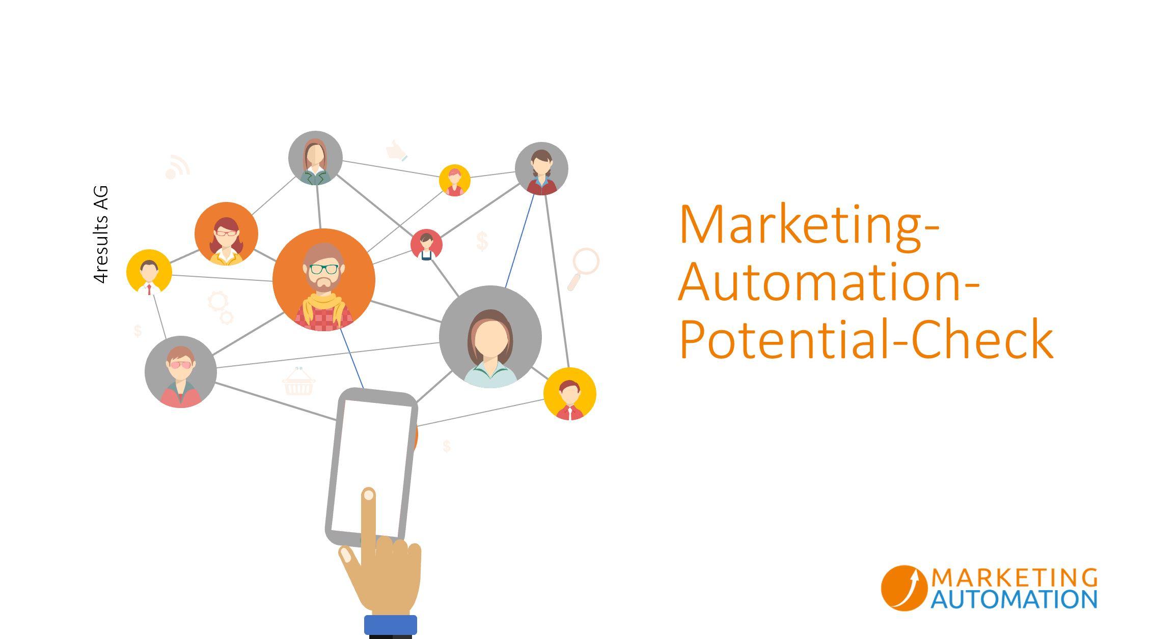 Der Marketing-Automation-Potential-Check zeigt Ihnen auf, wie Sie Ihr Potential in der digitalen Transformation für sich nutzen können.