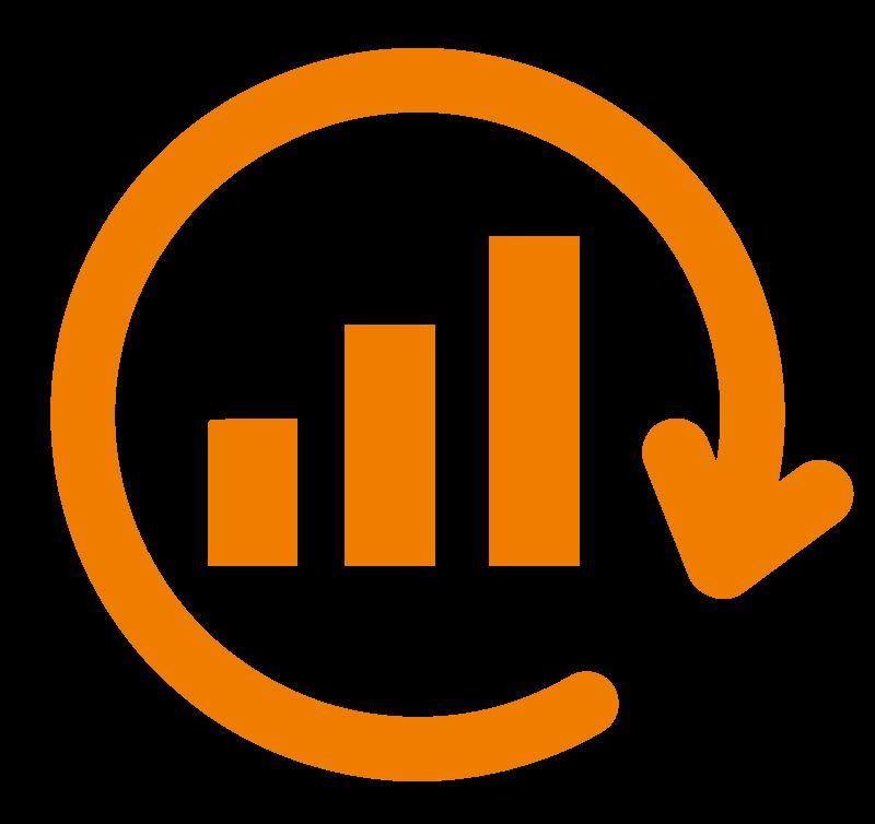 Marketing Automation Services icon analyse zeichnung MK
