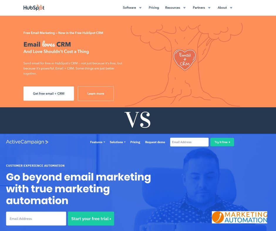 The Hubspot Vs Activecampaign Statements