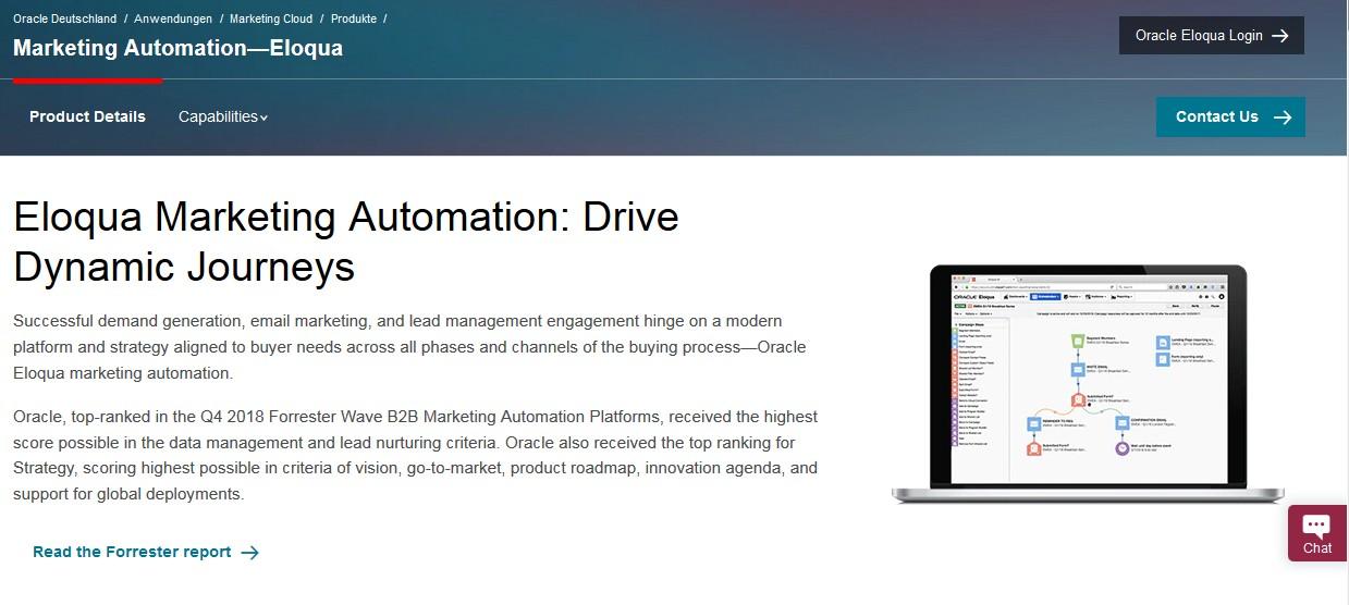 Welche Marketing Automation Software ist die Beste? (2021) eloqua