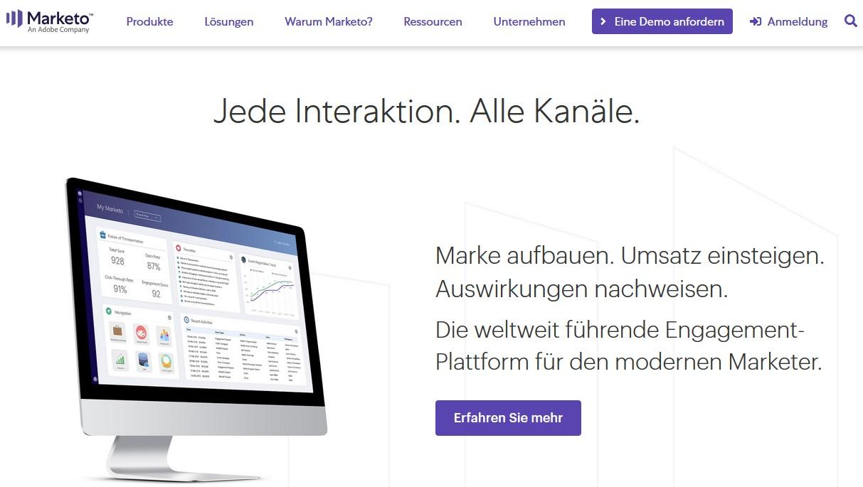 Welche Marketing Automation Software ist die Beste? (2021) marketo