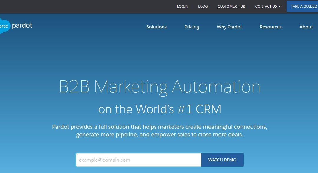 Welche Marketing Automation Software für Salesforce CRM ist die Beste (2020)