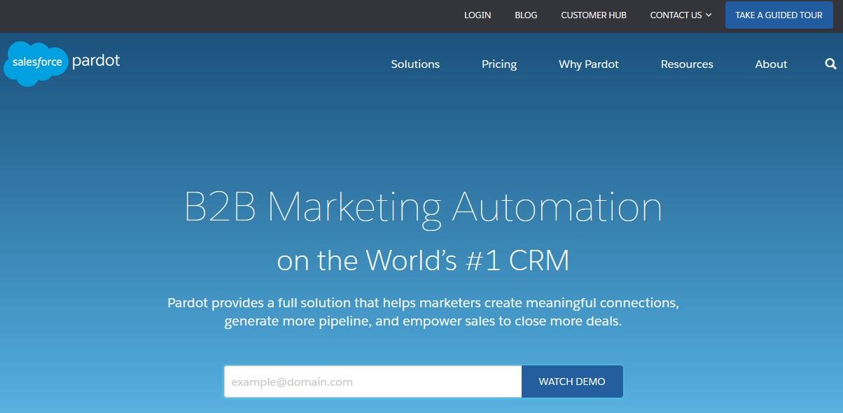 Welche Marketing Automation Software ist die Beste? (2021) pardot