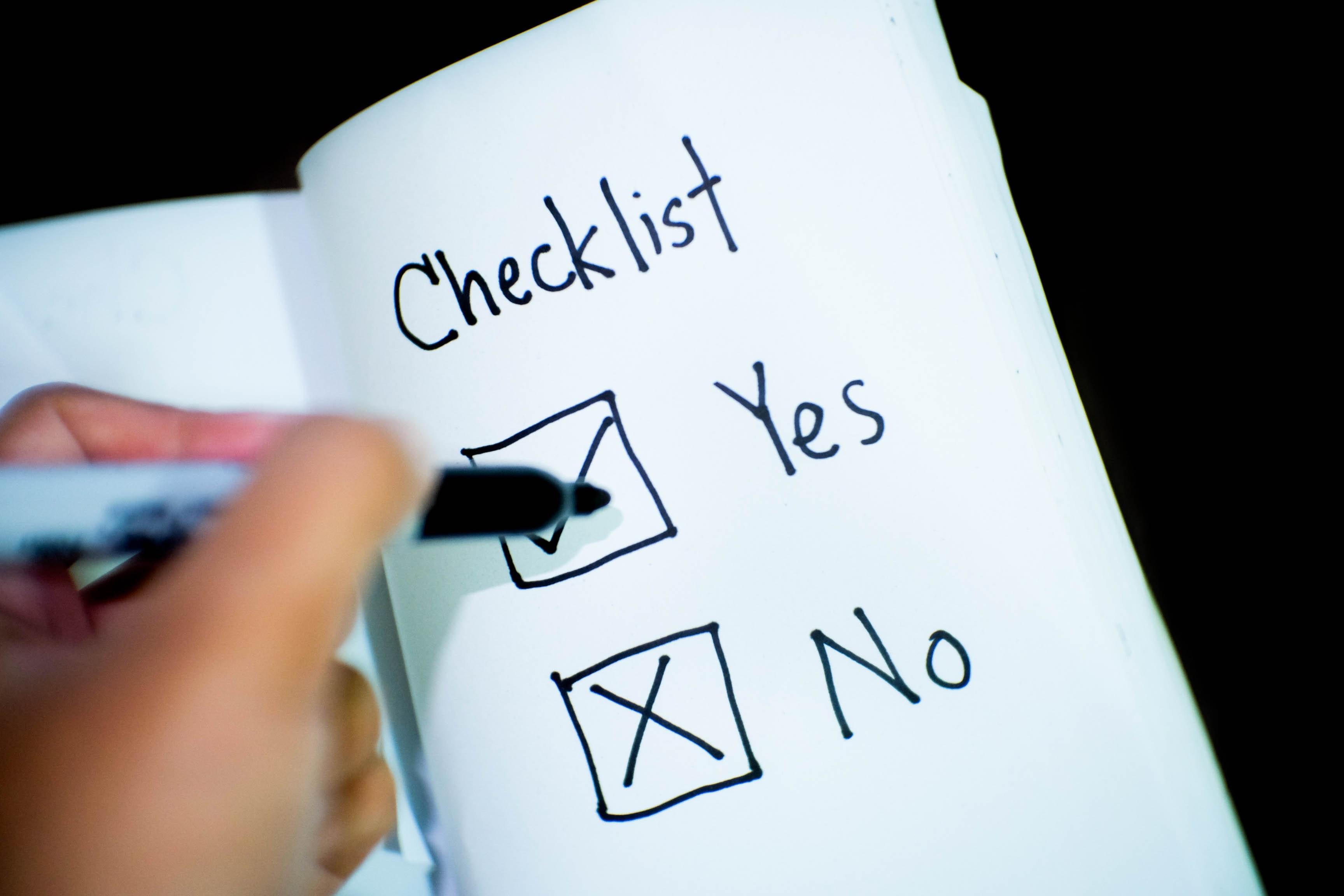 E-Mail-Liste aufbauen mit diesen 15 Tipps banking checklist commerce 416322