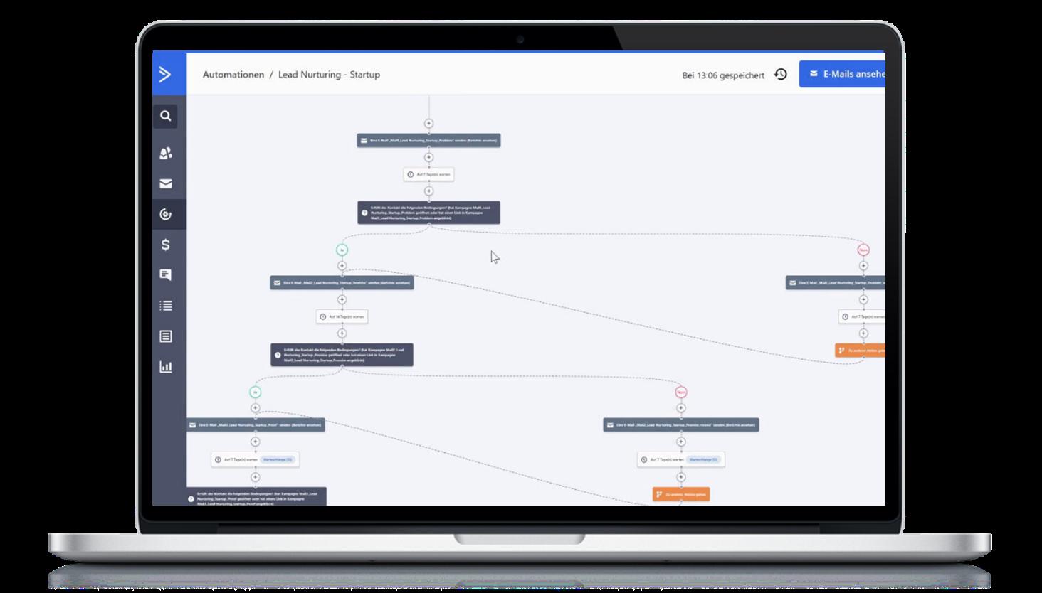"""Anmeldung Webinar """"Blick hinter die Kulissen einer Marketing Automation-Software"""" Webinar Marketing Automation Software Praxis 1"""