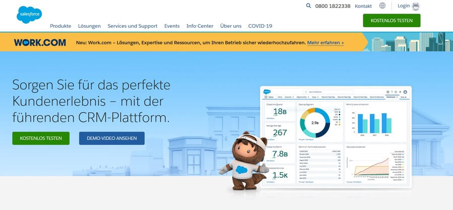 Salesforce mit marketing automation