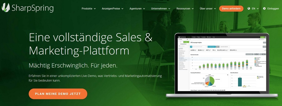 sharpspring mit salesforce