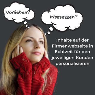 Inhalte Personalisieren Echtzeit Webseite